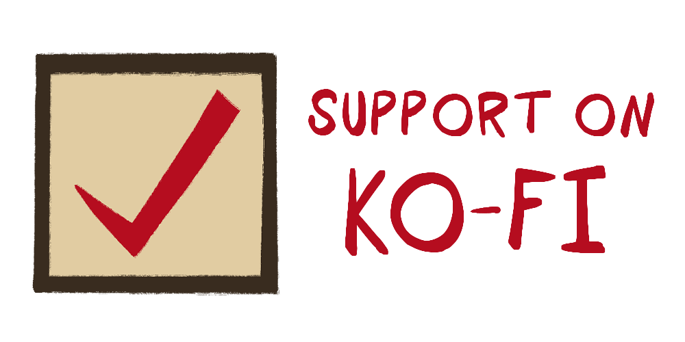 Support via Kofi